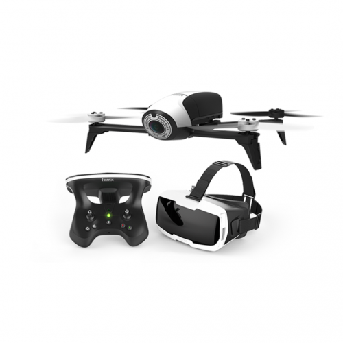 <b>Parrot Bebop Drone 2 + controller + bril</b><br>12.000 lichtpunten