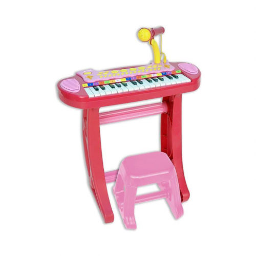 <b>Keyboard met microfoon & krukje</b><br>1.000 lichtpunten